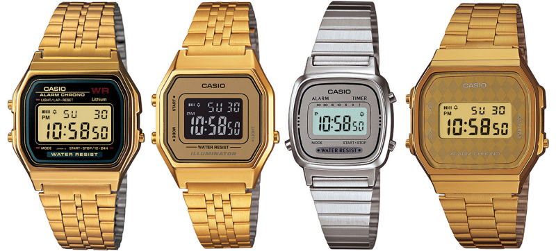 Casio retro karóra